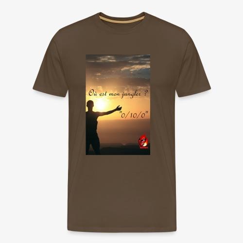 Ou est mon Jungler - T-shirt Premium Homme