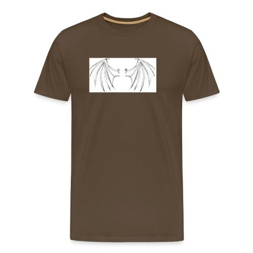 WINGS OF THE FALLEN ANGEL - Men's Premium T-Shirt