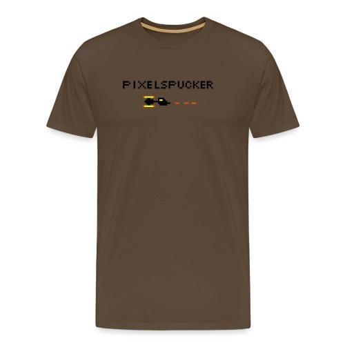 Pixelspucker - Männer Premium T-Shirt