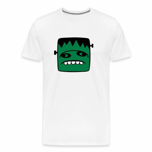 Fonster pur weißer Rand - Männer Premium T-Shirt