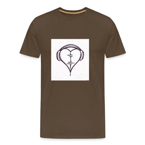 love music - T-shirt Premium Homme