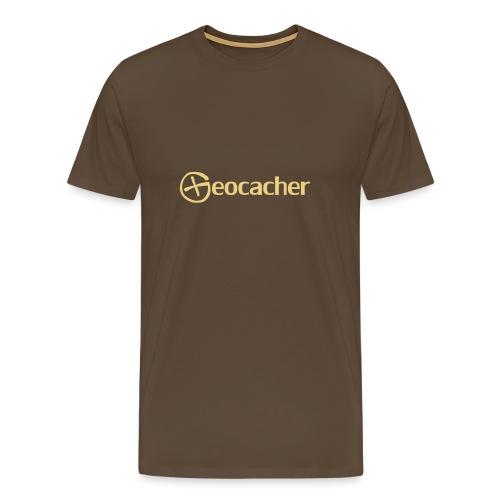 Geocacher - Miesten premium t-paita