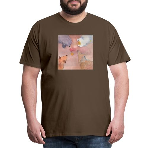 who Gets the Ball - Herre premium T-shirt