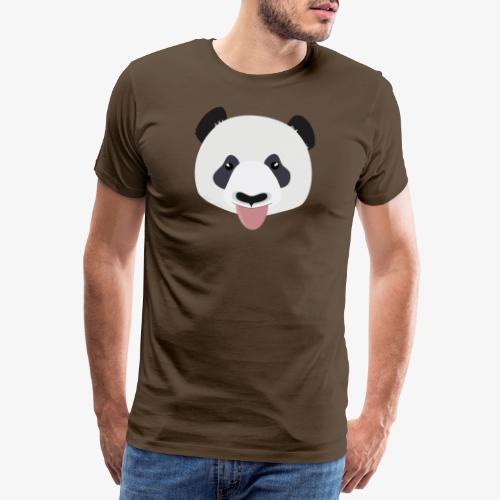 Funny Panda Bear - Men's Premium T-Shirt