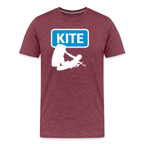 Kite Surf - Maglietta Premium da uomo
