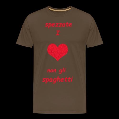 Spezzate I Cuori - Maglietta Premium da uomo