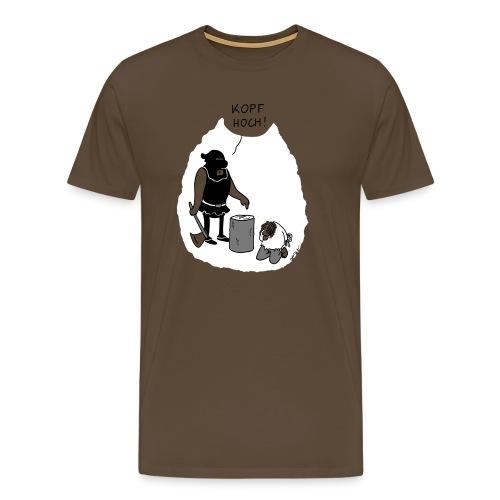 Kopf hoch - Männer Premium T-Shirt