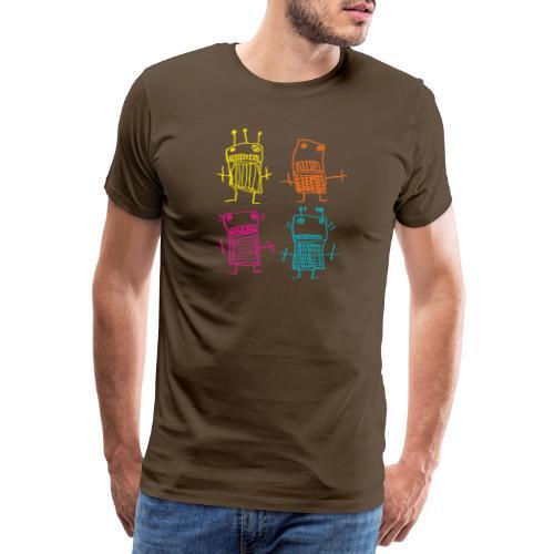 Robots - T-shirt Premium Homme