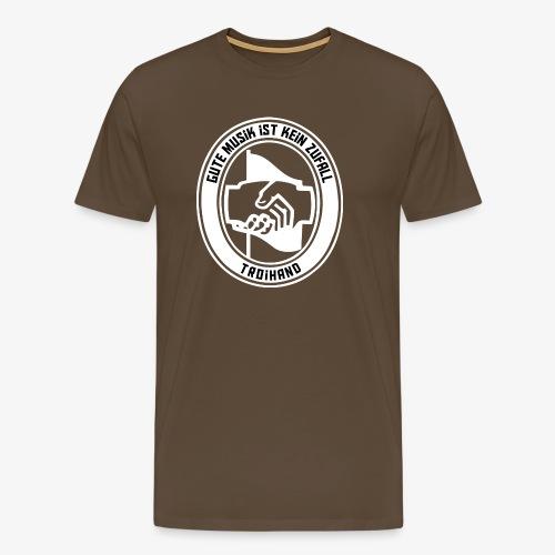 Logo Troihand invertiert - Männer Premium T-Shirt