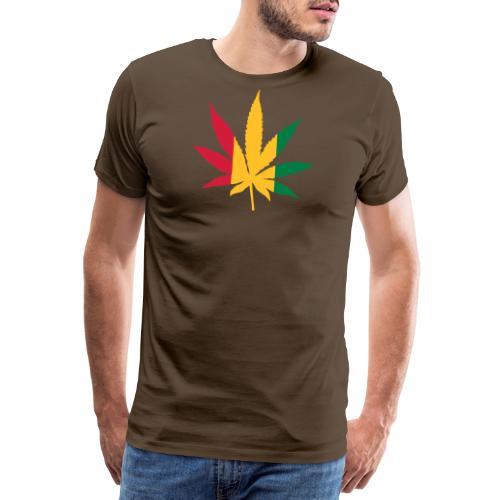 Cannabis Rastafari - Männer Premium T-Shirt