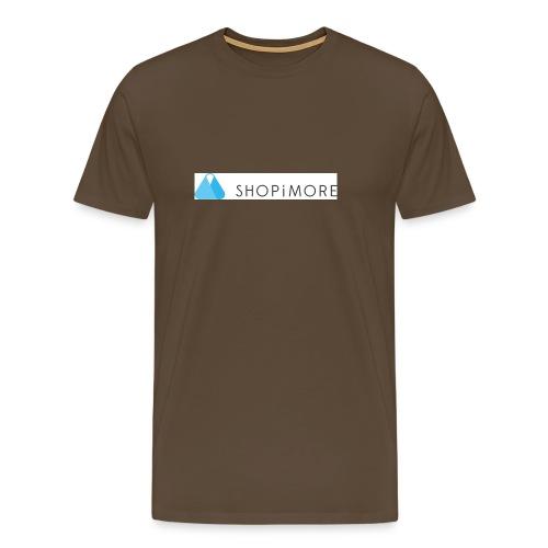 Logo SHOPiMORE - Männer Premium T-Shirt