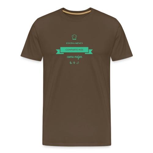 COCOOKING SLOGAN - Camiseta premium hombre