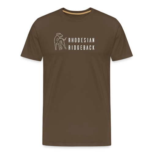 rr o fuss mit text - Männer Premium T-Shirt