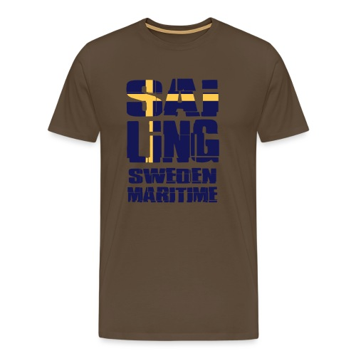 Sweden Maritime Sailing - Men's Premium T-Shirt