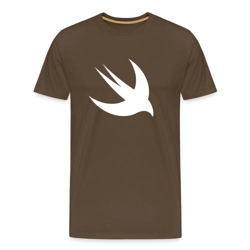 Swift logo svg png - Männer Premium T-Shirt