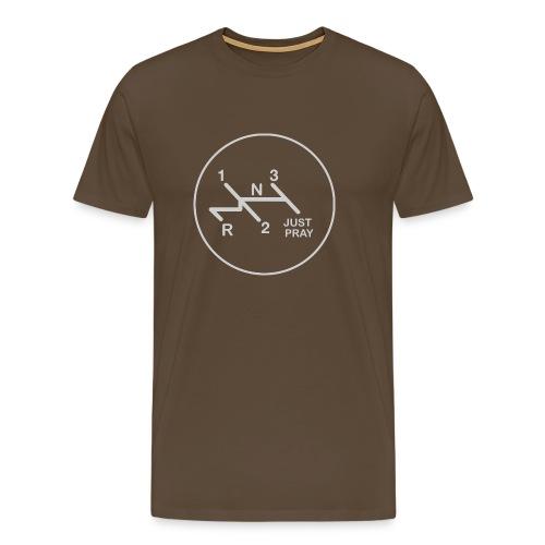 Schaltschema Just Pray - Männer Premium T-Shirt