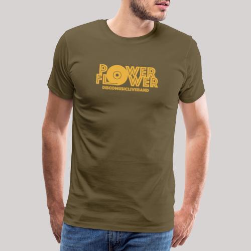 logo def PF 1colore giallo - Maglietta Premium da uomo