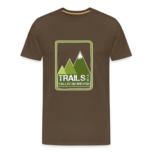 logo trails vb - T-shirt Premium Homme