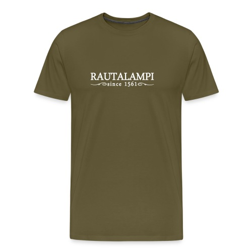 rautalampisinceornament - Miesten premium t-paita