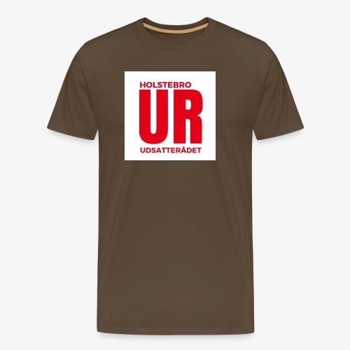 UR stor logo - Herre premium T-shirt