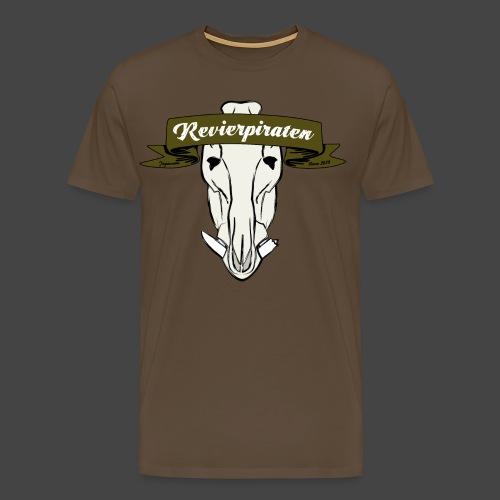 Revierpiraten oliv - Männer Premium T-Shirt