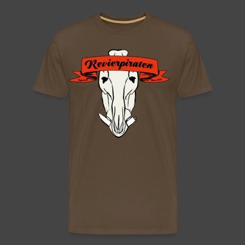Revierpiraten rot - Männer Premium T-Shirt