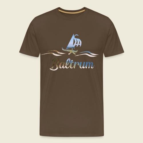 Baltrum Urlaub Nordsee Meer - Männer Premium T-Shirt