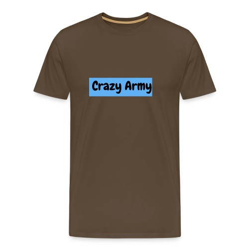 Crazy Army - Premium T-skjorte for menn