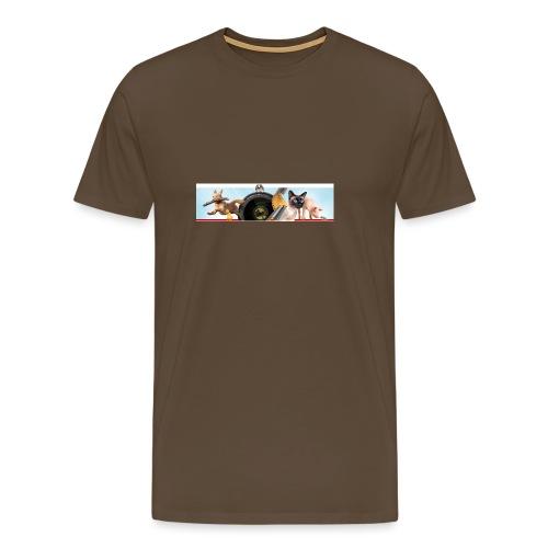 Animaux logo - Mannen Premium T-shirt