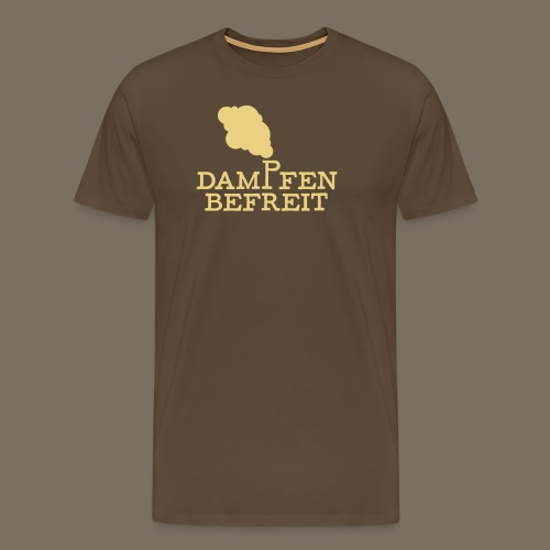 Dampfen befreit 01 - Männer Premium T-Shirt