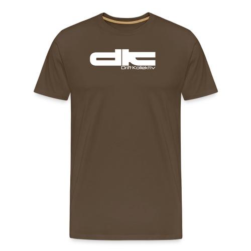 dk gross text - Männer Premium T-Shirt
