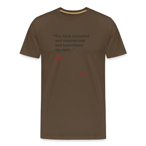 Mesmerized by Ruben - Herre premium T-shirt