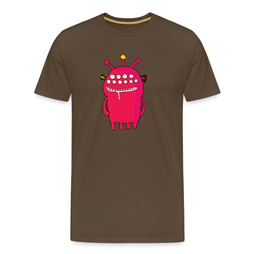 Alienating... (monster #1) - Men's Premium T-Shirt