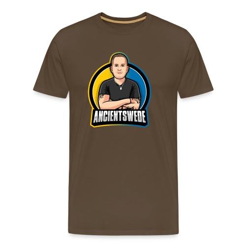 Stor Logga - Premium-T-shirt herr