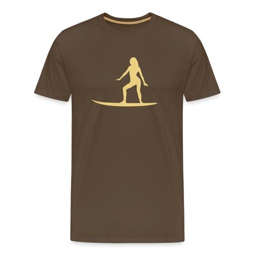 surfer_babe4 - Männer Premium T-Shirt