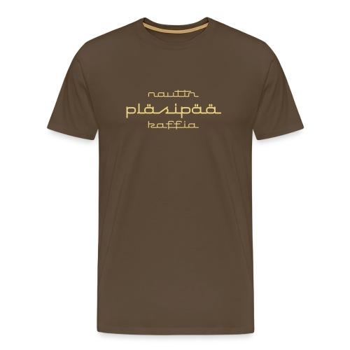 plasi - Miesten premium t-paita