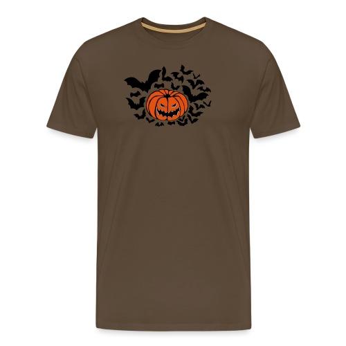 Pumpkin Bats - Men's Premium T-Shirt