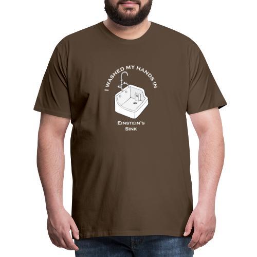 Einstein's Sink - Mannen Premium T-shirt