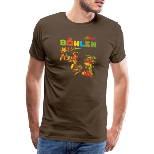 Böhlen - Männer Premium T-Shirt
