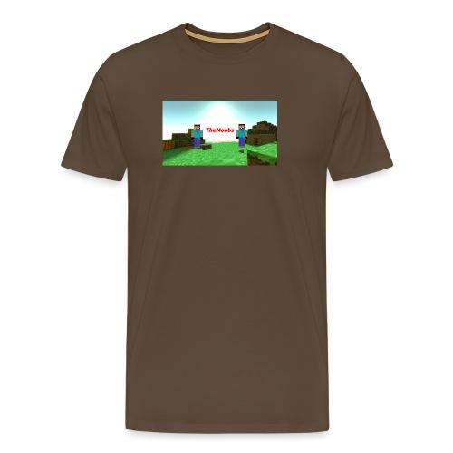 banner - Premium T-skjorte for menn