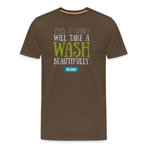 Wash - Men's Premium T-Shirt