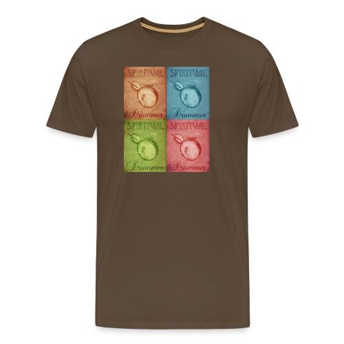 vintage drum - T-shirt Premium Homme