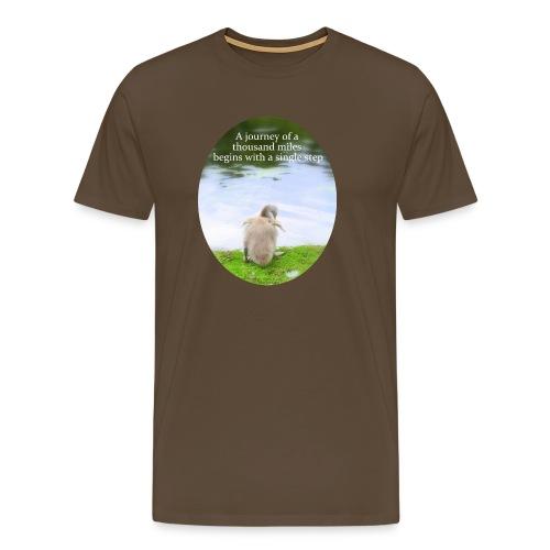 CygnetThousandMiles10mb - Men's Premium T-Shirt