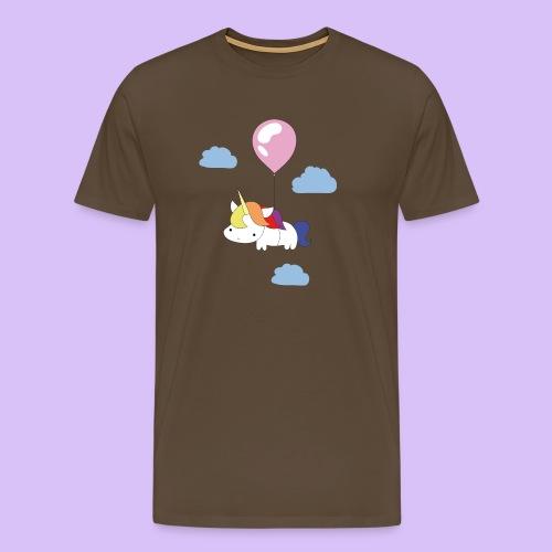 unicornballoon - Männer Premium T-Shirt