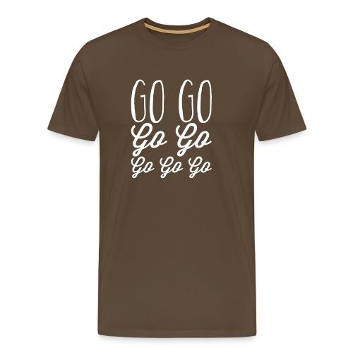 Go Go Go Go Go Go Go - Men's Premium T-Shirt