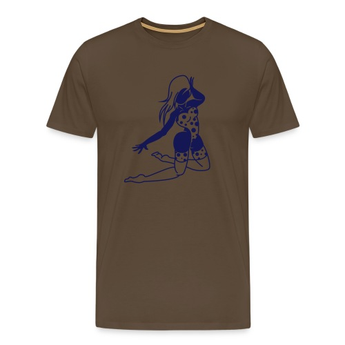 Rock Girl T-shirt - Premium-T-shirt herr