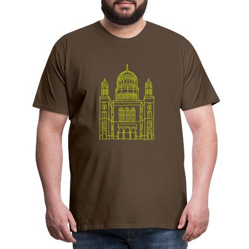 Neue Synagoge Berlin - Männer Premium T-Shirt