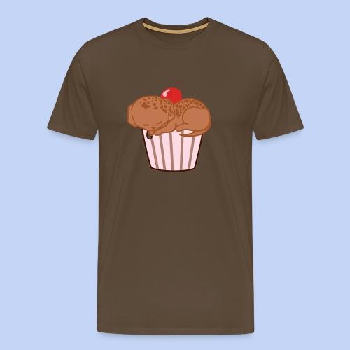 Choco Muffin Dog - Men's Premium T-Shirt