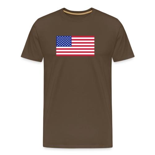 USA / United States - Mannen Premium T-shirt