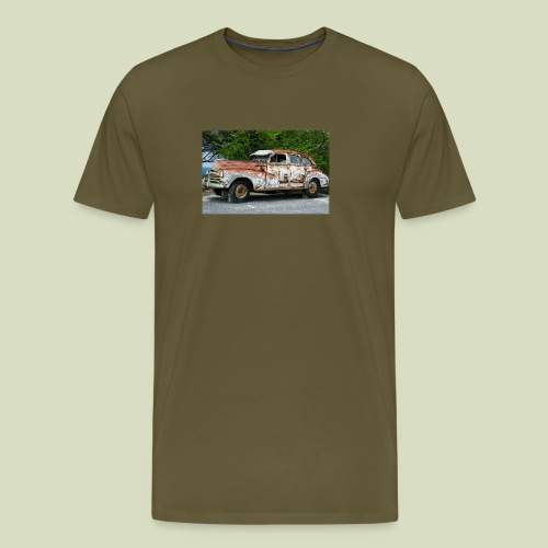 RustyCar - Miesten premium t-paita